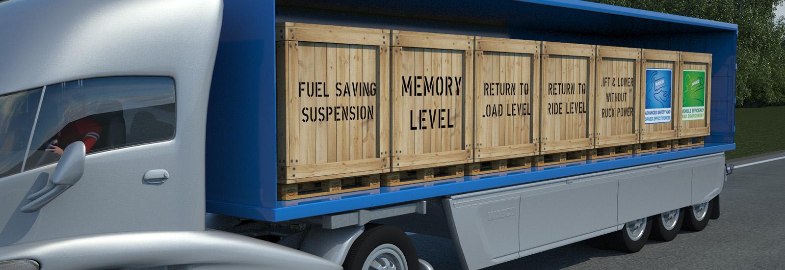 Fuel saving suspension